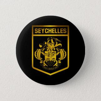 Seychelles Emblem 2 Inch Round Button