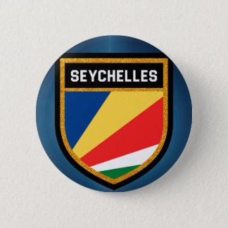 Seychelles Flag 2 Inch Round Button