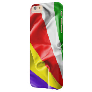 Seychelles Flag Barely There iPhone 6 Plus Case