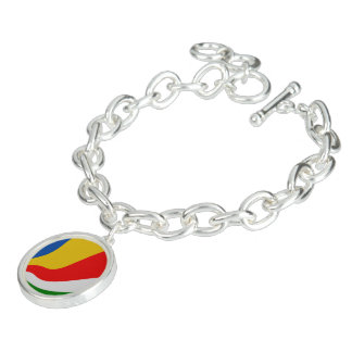 Seychelles Flag Bracelet
