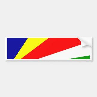 Seychelles Flag Bumper Sticker