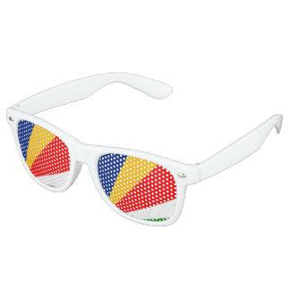 Seychelles Flag Retro Sunglasses