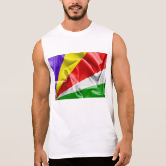 Seychelles Flag Sleeveless Shirt
