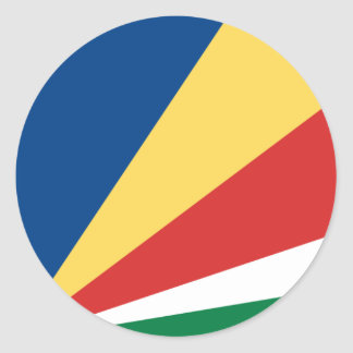Seychelles Flag Sticker
