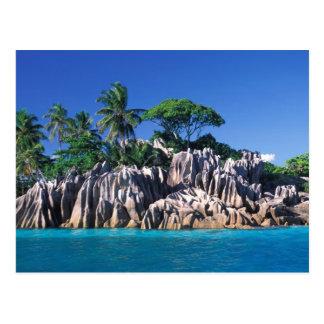 Seychelles. Ilot St. Pierre (near Praslin Postcard