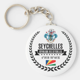 Seychelles Keychain