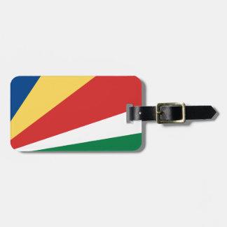 Seychelles Luggage Tag