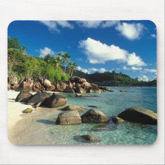 Seychelles, Mahe Island, Anse Royale Beach. 3 Mouse Pad