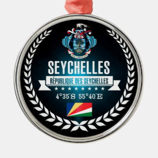 Seychelles Metal Ornament