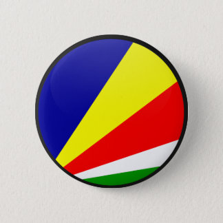 Seychelles quality Flag Circle 2 Inch Round Button