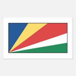 Seychelles Seychellois  Flag Sticker