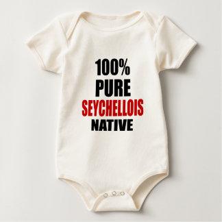 SEYCHELLOIS NATIVE BABY BODYSUIT