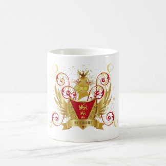 Seymour Family Crest Coffee Mug