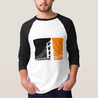 SF Bay 3/4 Sleeve Raglan T-Shirt