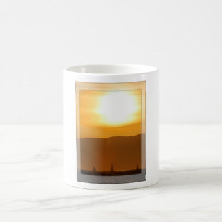 SF Bay Sunset Sailing Coffee Mug