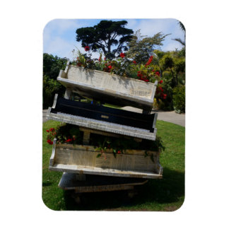 SF Botanical Garden Flower Piano Magnet