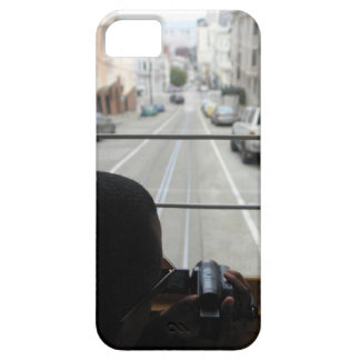 SF cable car street view iPhone 5 Cover