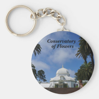 SF Conservatory of Flowers #1-2 Keychain