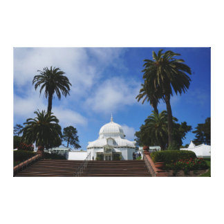 SF Conservatory of Flowers #1 Canvas