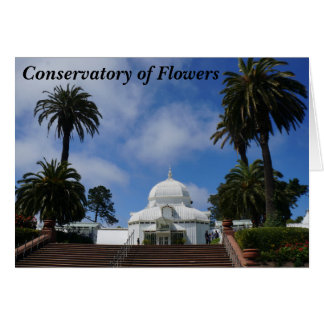 SF Conservatory of Flowers #1 Card