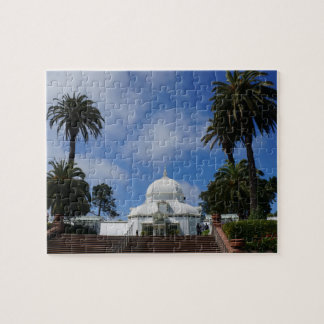 SF Conservatory of Flowers #1 Jigsaw Puzzle