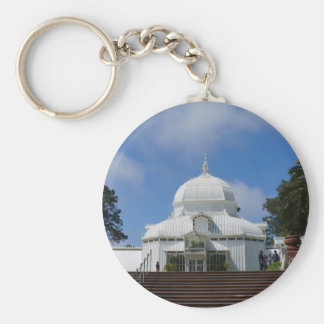 SF Conservatory of Flowers #1 Keychain