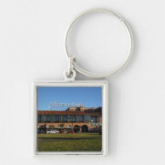 SF Ghirardelli Square #2 Premium Keychain