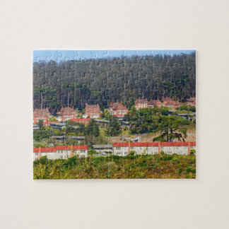 SF Inspiration Point Overlook Jigsaw Puzzle
