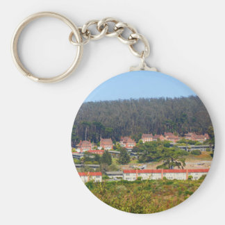 SF Inspiration Point Overlook Keychain