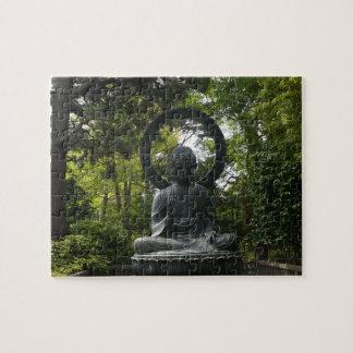 SF Japanese Tea Garden Buddha Jigsaw Puzzle