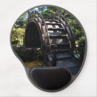 SF Japanese Tea Garden Drum Bridge Gel Mousepad