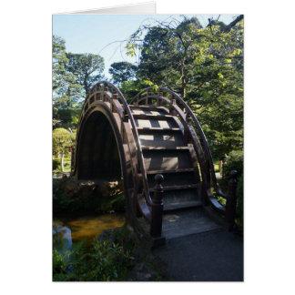 SF Japanese Tea Garden Drum Bridge Greeting Card