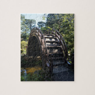 SF Japanese Tea Garden Drum Bridge Jigsaw Puzzle