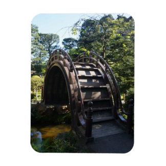 SF Japanese Tea Garden Drum Bridge Photo Magnet