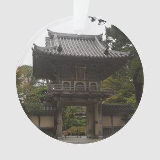 SF Japanese Tea Garden Entrance #2 Ornament