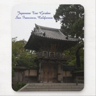 SF Japanese Tea Garden Entrance Mousepad