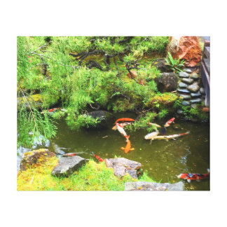 SF Japanese Tea Garden Koi Pond #3 Canvas