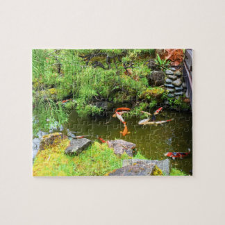 SF Japanese Tea Garden Koi Pond #3 Jigsaw Puzzle