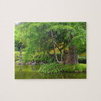 SF Japanese Tea Garden Pond #4 Jigsaw Puzzle