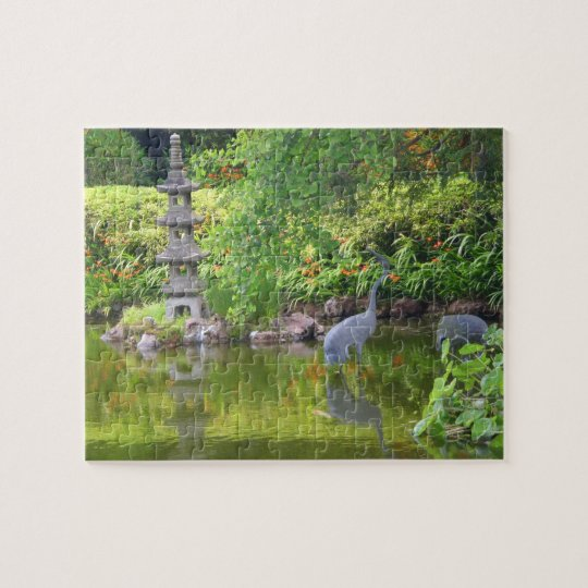 SF Japanese Tea Garden Pond #5 Jigsaw Puzzle