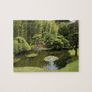 SF Japanese Tea Garden Pond Jigsaw Puzzle