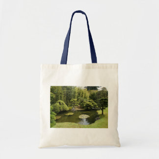 SF Japanese Tea Garden Pond Tote Bag