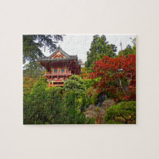 SF Japanese Tea Garden Temple Gate#3 Jigsaw Puzzle