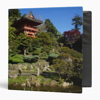 SF Japanese Tea Garden Temple Gate Binder