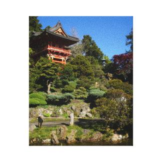 SF Japanese Tea Garden Temple Gate Canvas