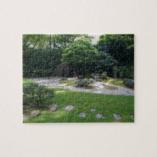 SF Japanese Tea Garden Zen Garden #2 Jigsaw Puzzle