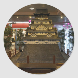 SF Japantown Osaka Castle Replica #2 Stickers