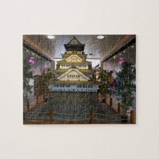 SF Japantown Osaka Castle Replica Jigsaw Puzzle