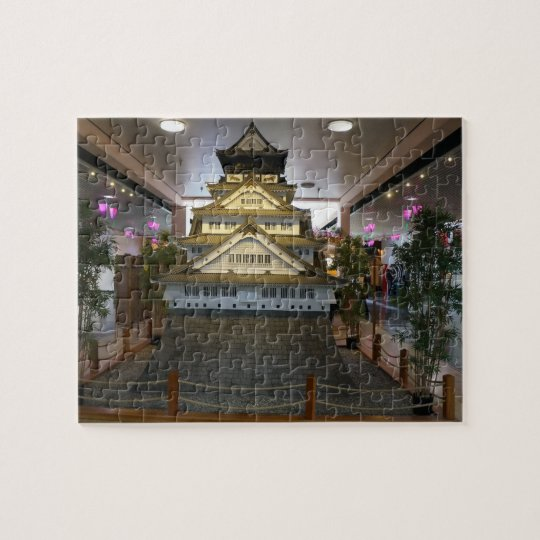 SF Japantown Osaka Castle Replica Jigsaw Puzzle
