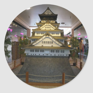 SF Japantown Osaka Castle Replica Stickers